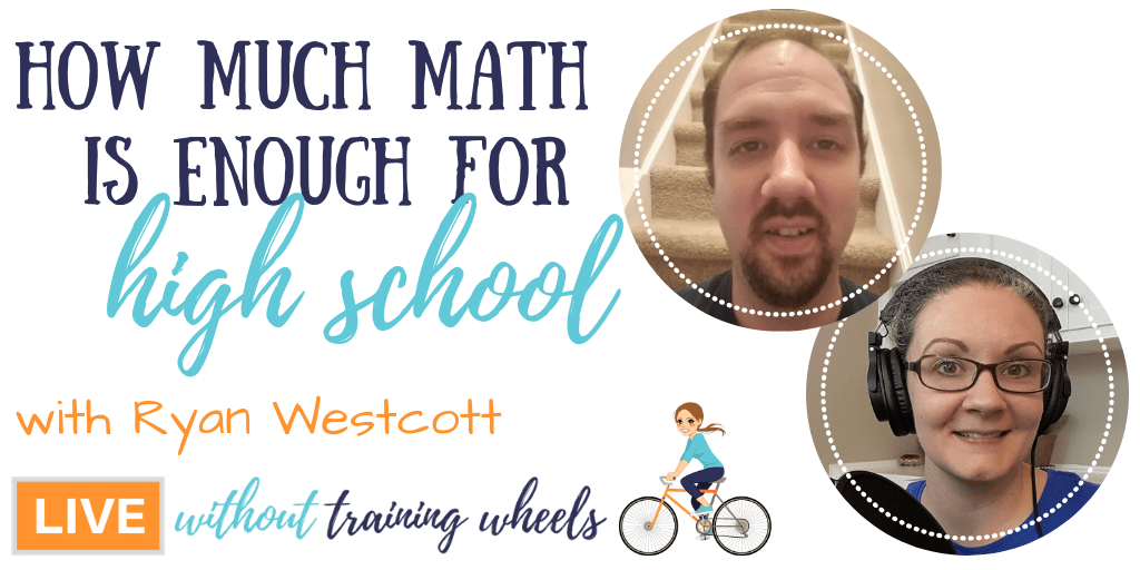 You took a relaxed approach to math when they were younger. Now high school is looming. Will they be prepared? Let's ask a high school physics teacher!