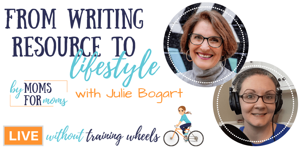 Let's chat with Julie Bogart, owner and founder of Brave Writer, as she shares what it was like to start a company while also homeschooling five children.