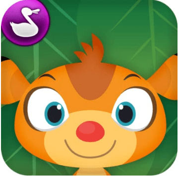 kindle fire kids app for learning to read from duck duck moose