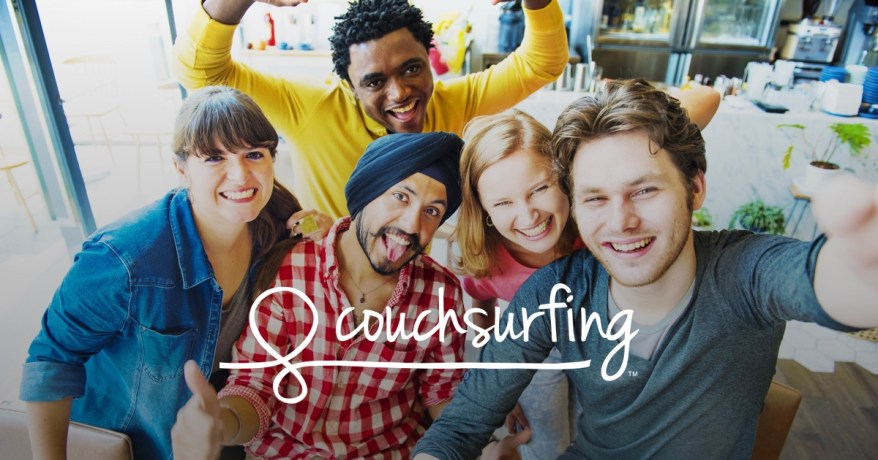 """Couchsurfing is a community of people offering their """"couches"""" (floor, spare room, apartment, house, castle), to other travellers, all over the world."""