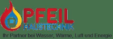 Haustechnik Pfeil Logo