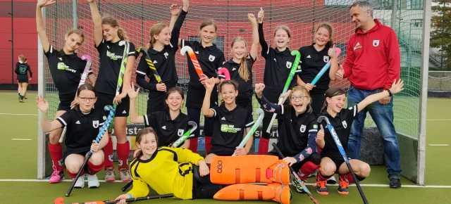 Weibliche U12 des HTC Kupferdreh ist Verbandsligameister