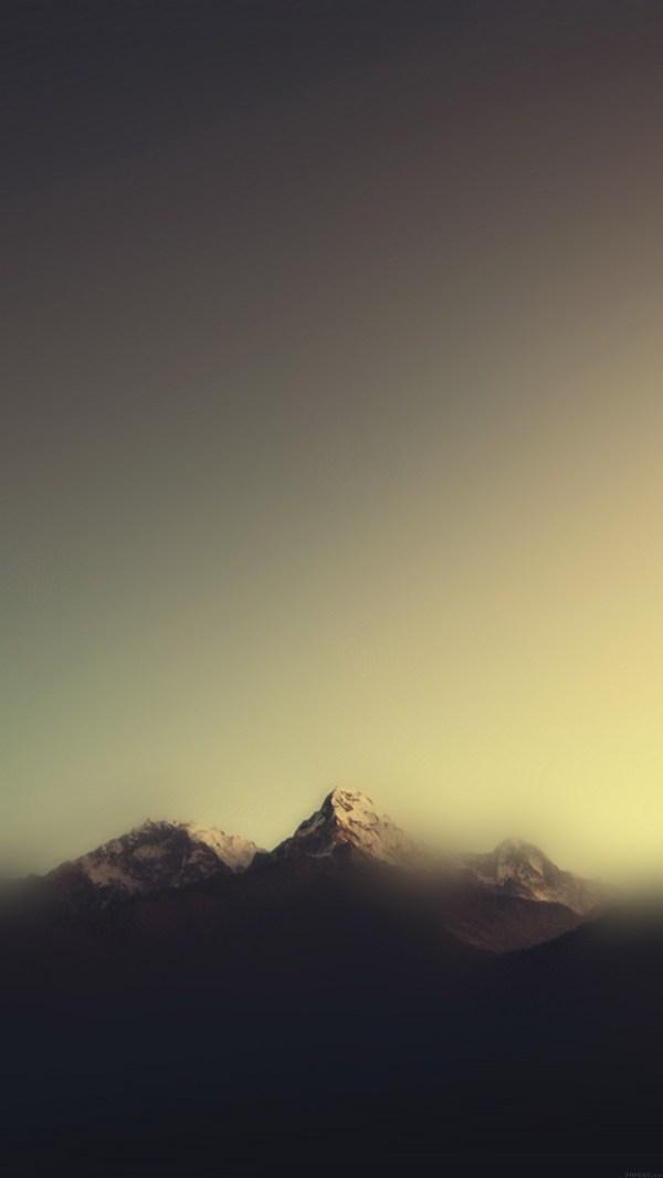 Mountain blur minimal - Best htc one wallpapers