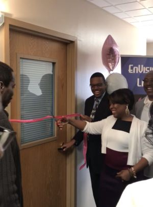 EnVision Life Closet Ribbon Cutting