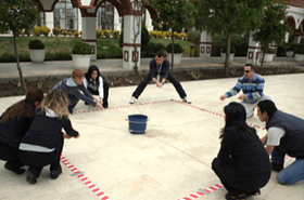 team building challenge games