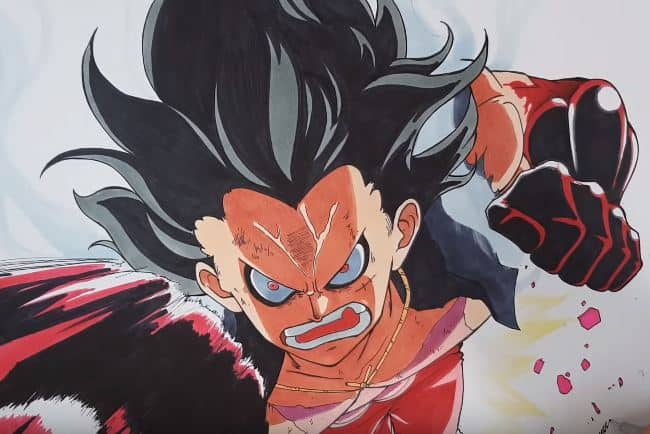 A lovingly curated selection of 4 free hd luffy snake man wallpapers and. How To Draw Luffy Gear 4 Snake Man From One Piece