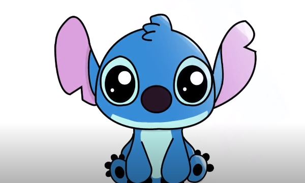 How To Draw Stitch Step By Step Easy Drawing Tutorials