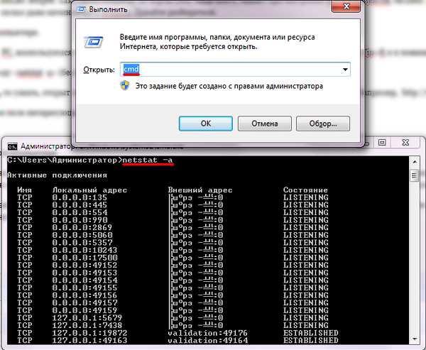 проверить занятые порты linux можно ли взять кредит по копии чужого паспорта