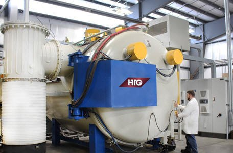 HTG Expands Production with New Vacuum Furnace