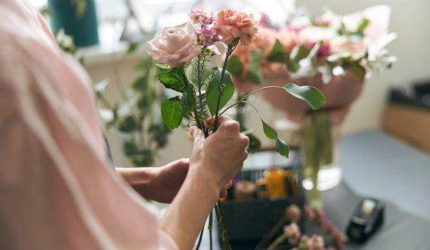 Nachrichten von Blumen gegeben