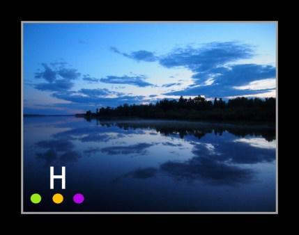 Lake Isle, Alberta, Canada