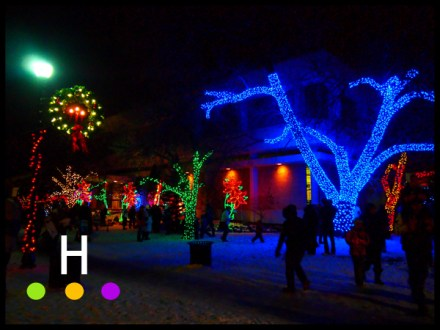 Festival Lights the Night, Red Deer, Alberta