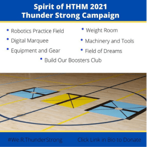 Spirit of HTHM 2021 Thuder Strong Campaign