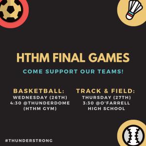 HTHM Final Games