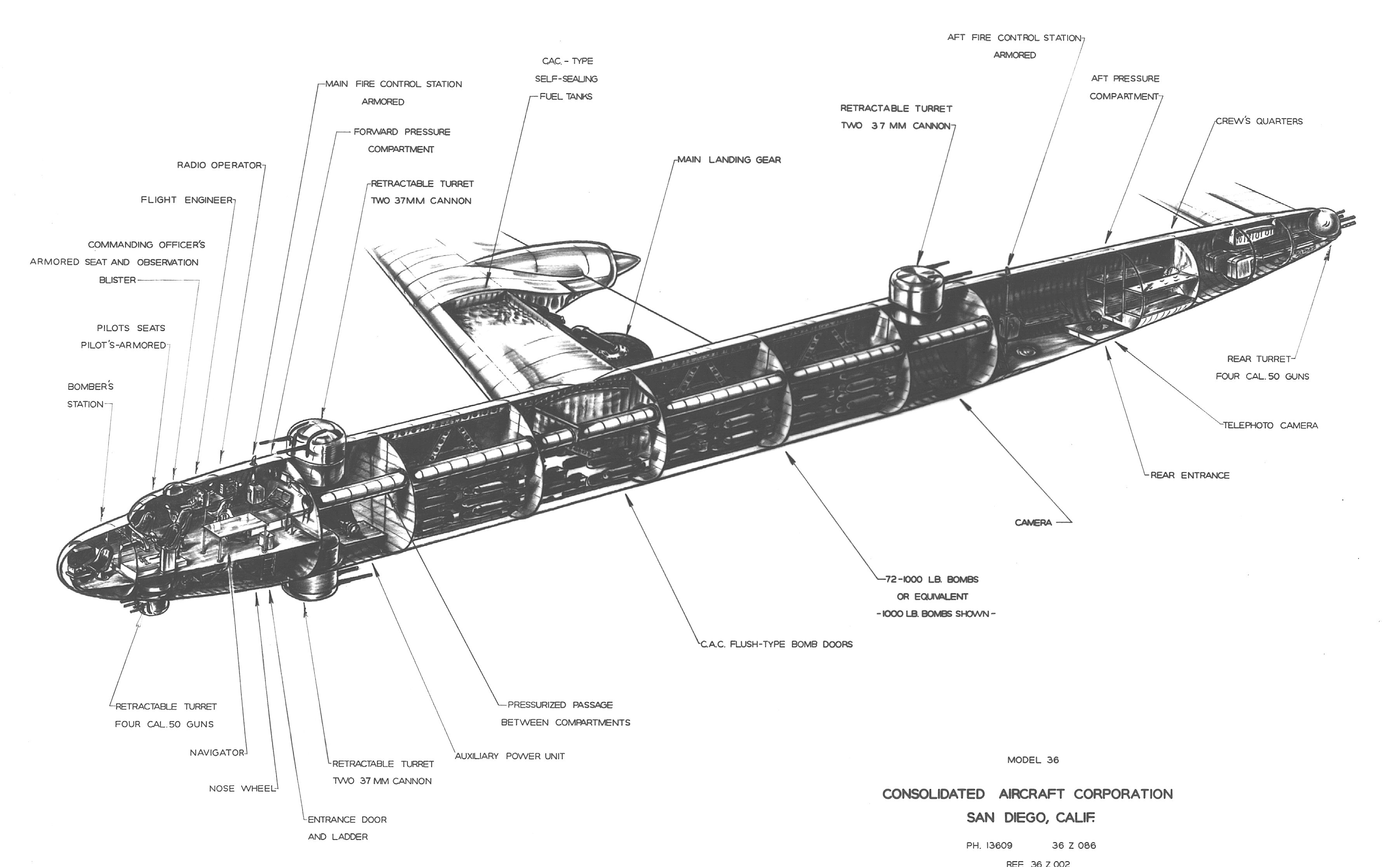 Soviet Comparison Of Tu 4 Tu 85 Prototype And B 36