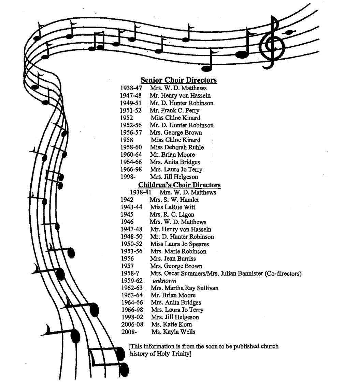 choirdirector