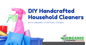 DIY Handcrafted household cleaners with Organic Stepping Stones