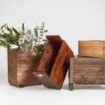 Image of wood planter