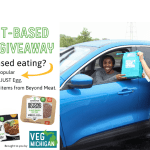 Plant based food giveaway Signup to get your free food by June 18th and pickup at the library on June 21st 3:30-5:30pm