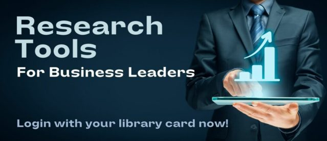 Research Tools for Business Leaders Image