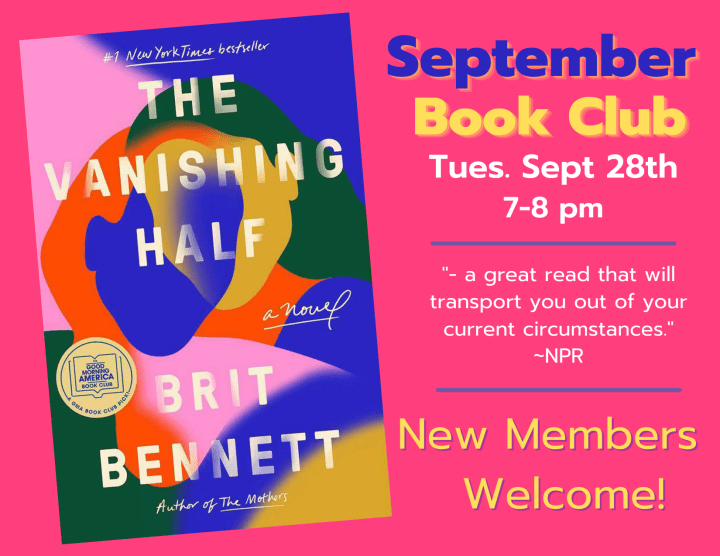 September Book Club Selection: The Vanishing Act