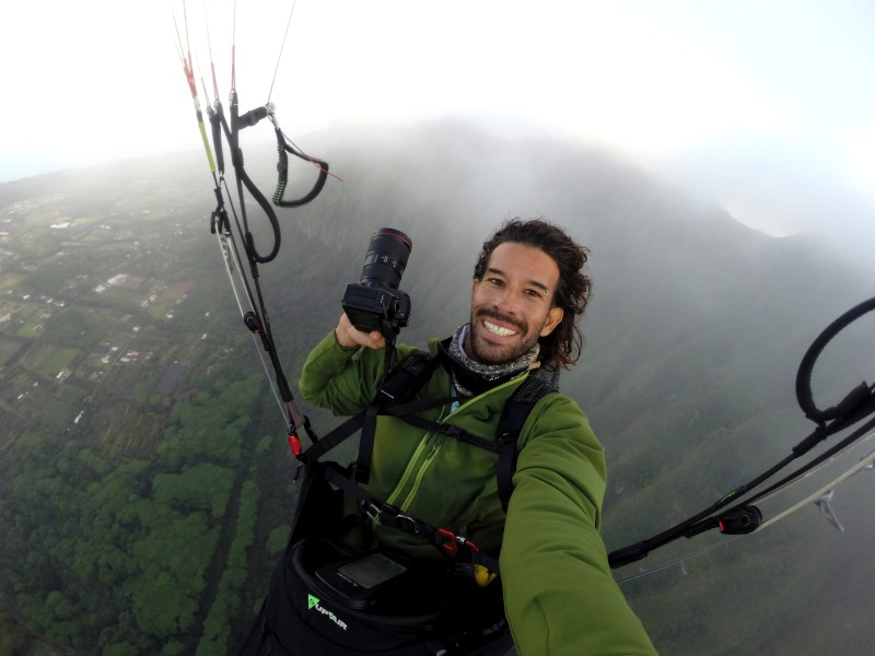 Journey Through The Invisible Element With Photographer And Paraglider Jorge Atramiz