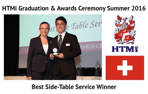 Best Side-Table Service Winner