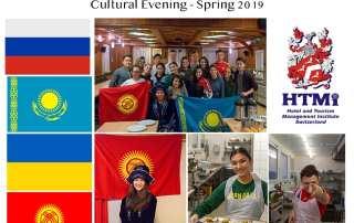 Russia, Kazakhstan, Ukraine and Kyrgyzstan Cultural Evening - Spring 2019