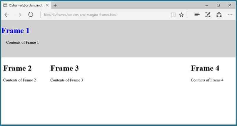 Html Frame Background Image Code | Allframes5.org