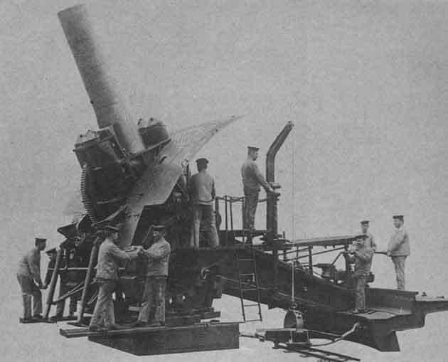 Большие Берты – осадные орудия 420-мм калибра