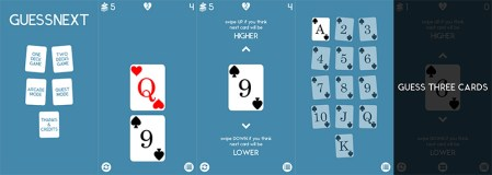 Phaser Tutorial  Creating a Simple Card Game   HTML5 Game Development Guess Next final game version