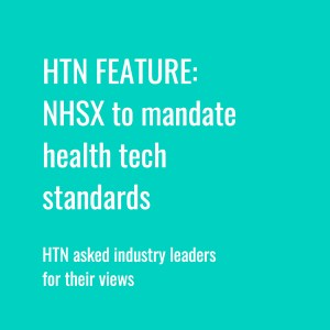 HTN Industry View: NHSX to mandate health tech standards