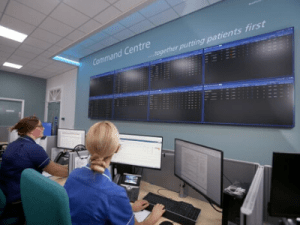 Bradford Teaching Hospitals Command Centre officially opens