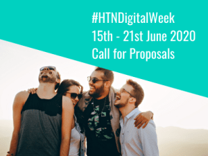 HTN Digital Week June 2020 Call for Proposals