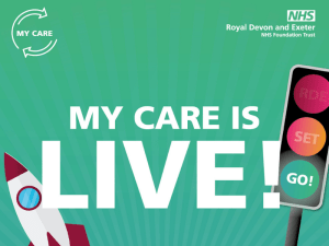 Royal Devon and Exeter's Epic go-live week