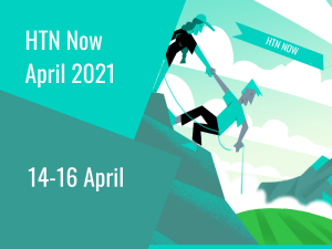Join us live in three weeks' time for HTN Now April