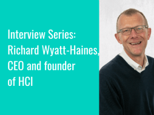 Interview Series: Richard Wyatt-Haines discusses the trials and tribulations of being a start up in the world of digital health