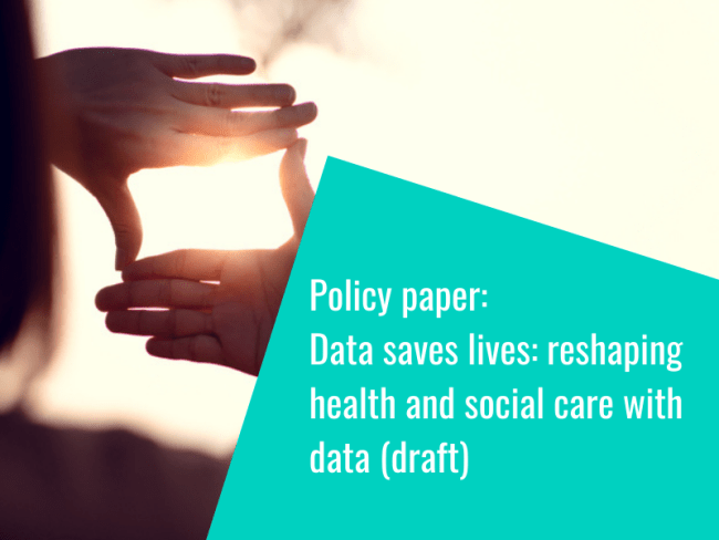 Draft data strategy policy paper published