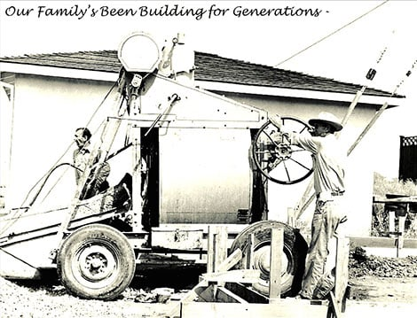 Our Family's Been Building for Generations