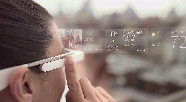 google glass interface