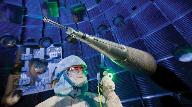 most powerful laser in the world