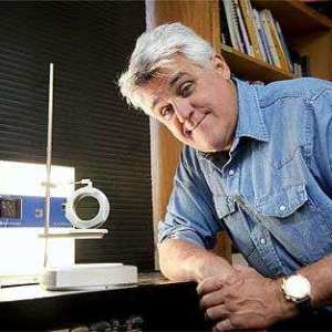 Jay Leno with his 3D Scanner