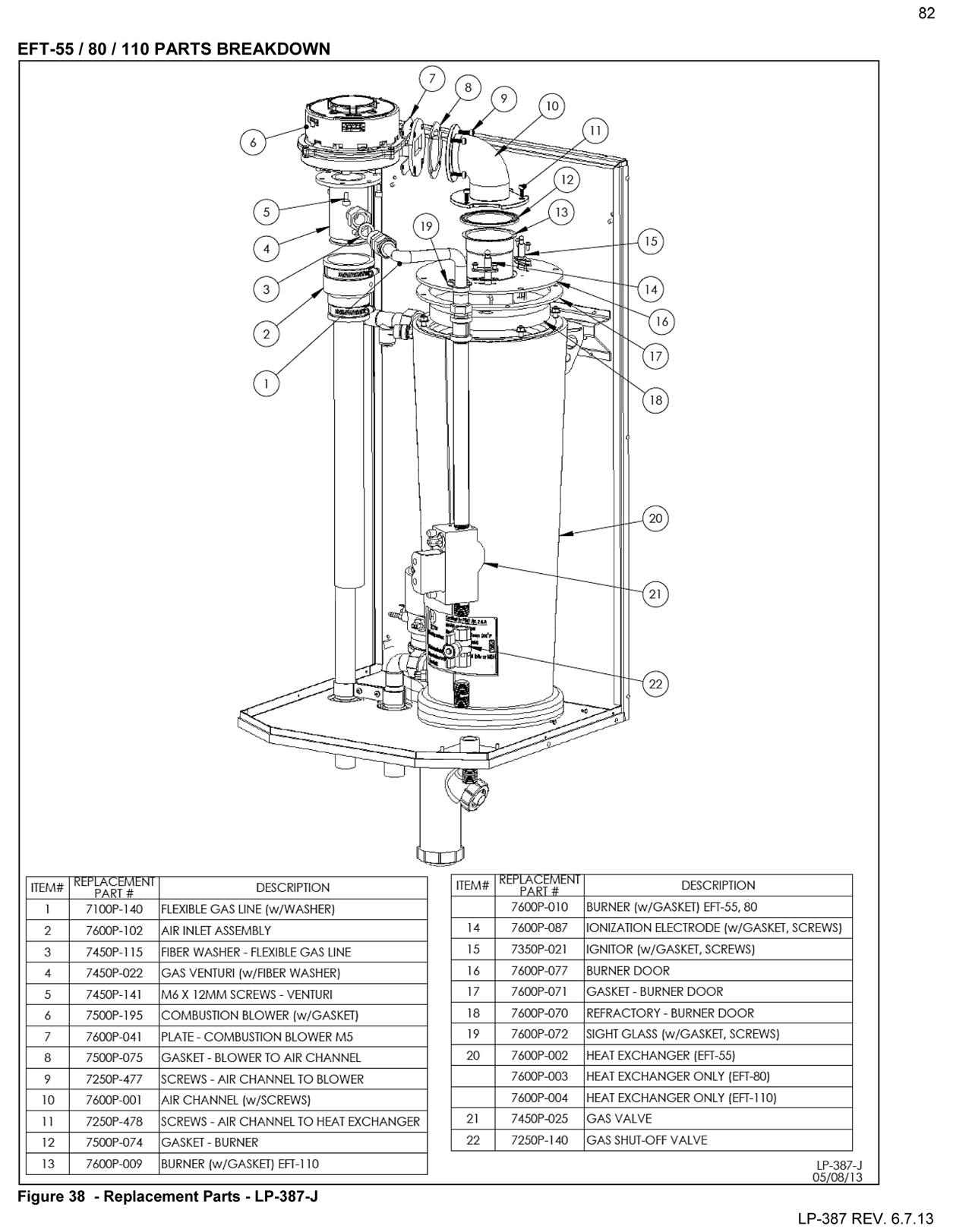 Elite Ft Heating Boiler Parts Drawings