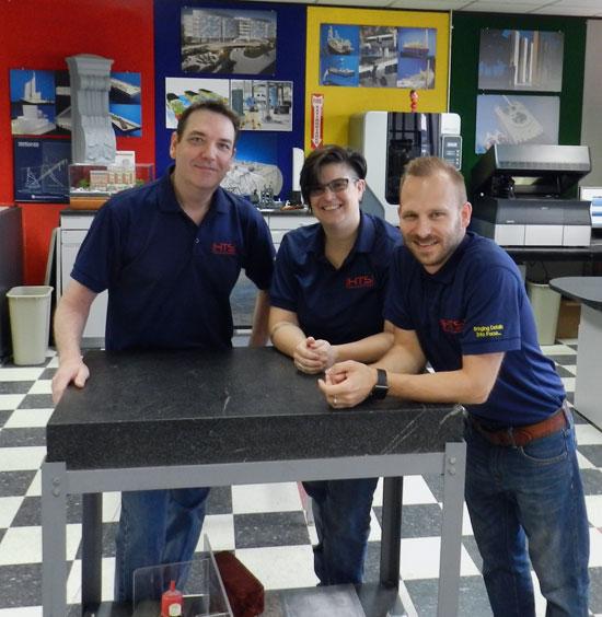 HTS Advanced Solutions Model Making Team