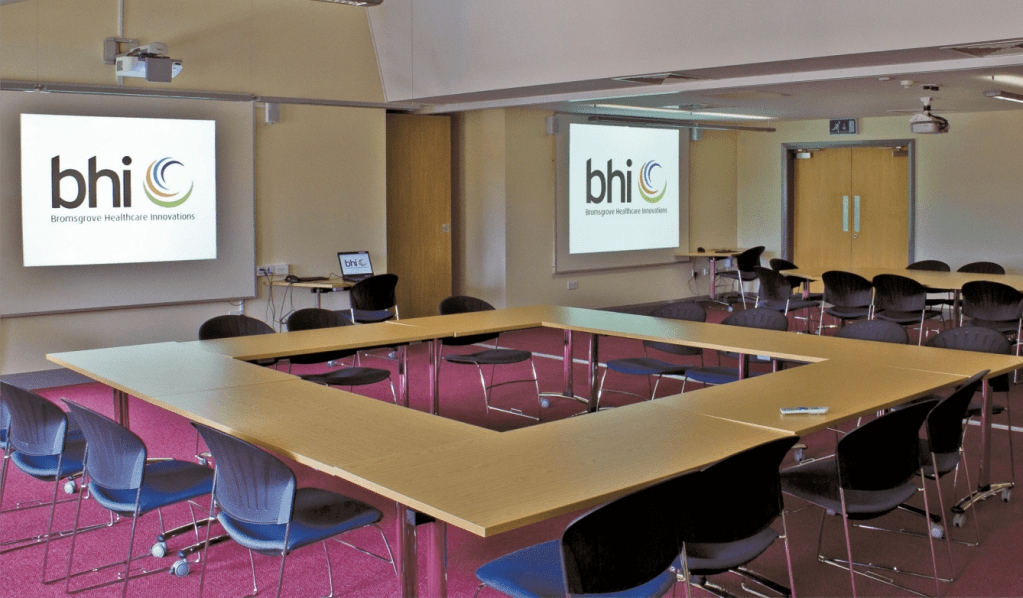 an AV installation completed by HTS of a board room in a hospital - public sector