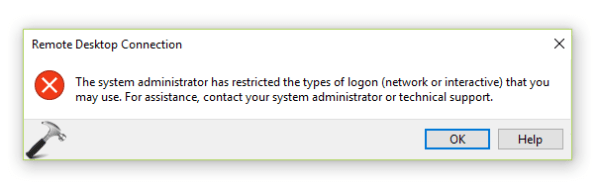 [FIX] The System Administrator Has Restricted The Types Of ...