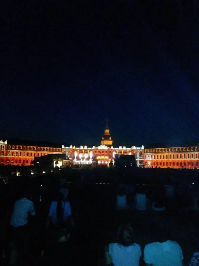 Lo show di luci al Castello - by ZKM