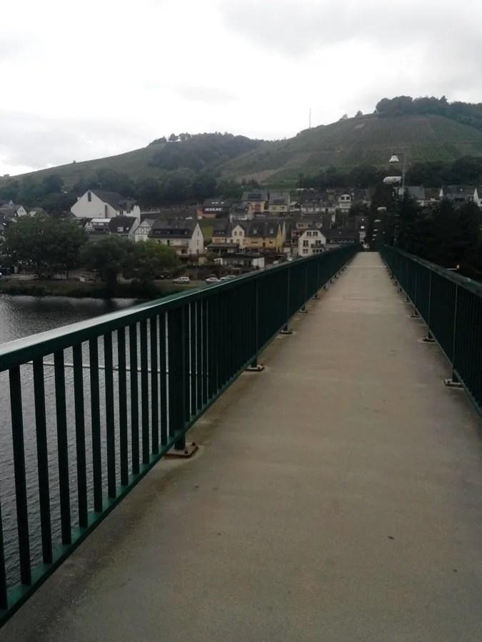 Ponte pedonale - panorama
