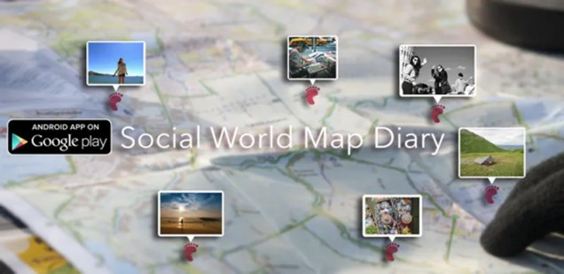 Stappz – Social world map Diary A Mobile Application to explore locations and post on content on positions. It is the answer to the questions: What's live near me?