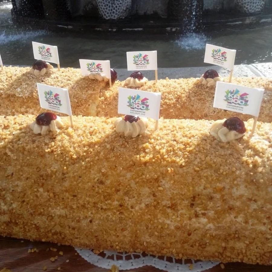 Frankfurter Kranz - una torta speciale